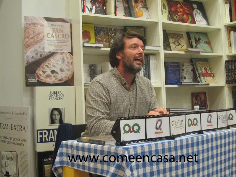 """Ybán Yarza y su """"Pan Casero""""en la librería Quorum"""