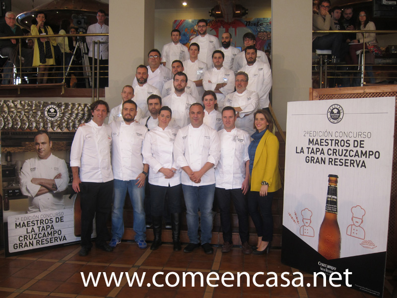 """""""Maestros de la Tapa Cruzcampo Gran Reserva"""""""
