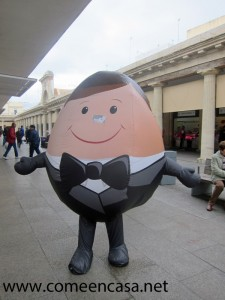 El huevo de etiqueta