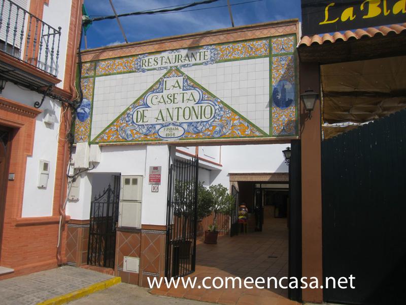La Caseta de Antonio, en Santiponce