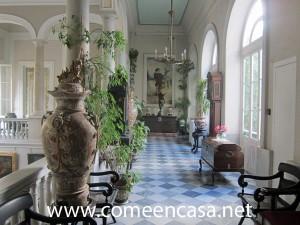 Palacio de Mora primera planta