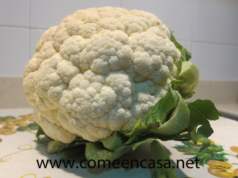 Coliflor «superstar»