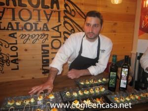 Cata aceite Lalola Abascal