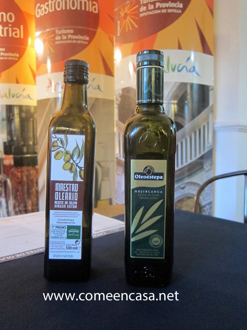 Con los mejores aceites de Sevilla