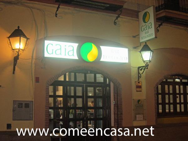 Cena en Restaurante Gaia (Sevilla)