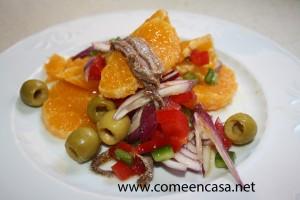 Ensalada de naranja dulce y salada1