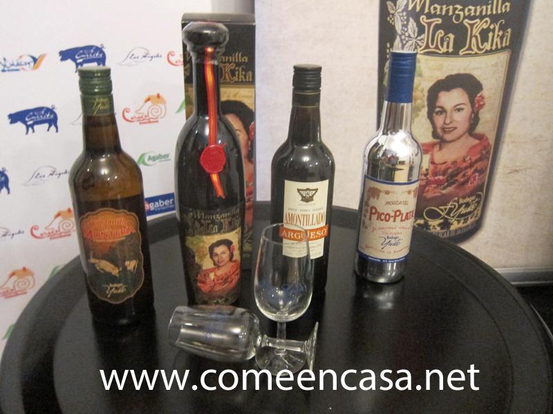 Cata de vinos sanluqueños en La Casapuerta