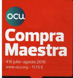 OCU COMPRA MAESTRA