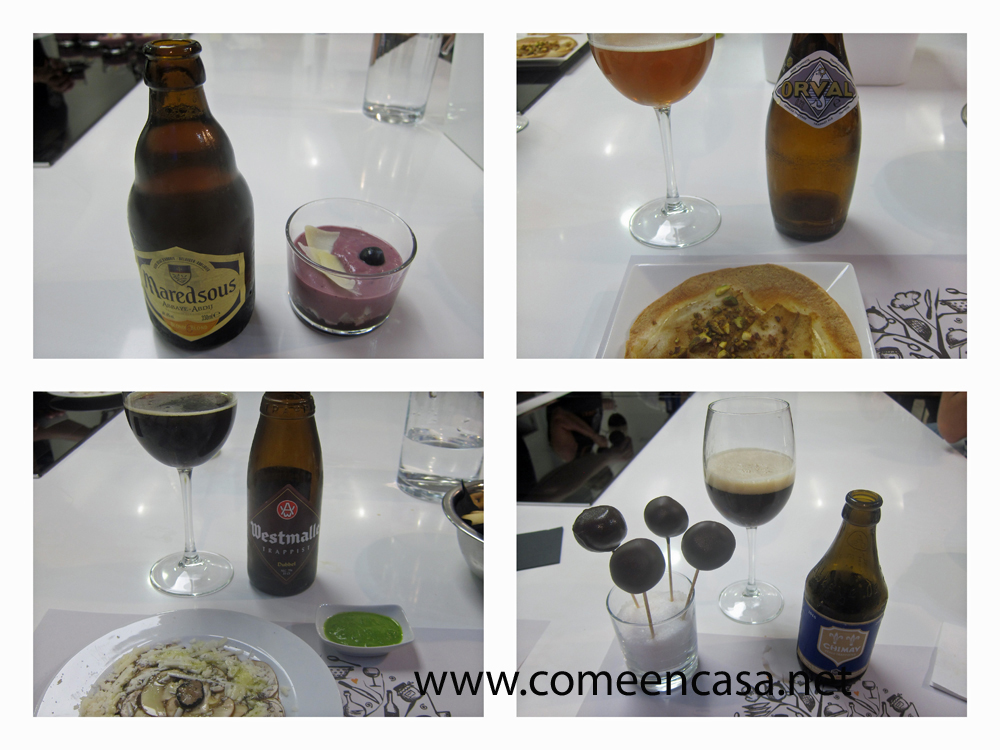 Catando cervezas trapenses en Foodie Cádiz