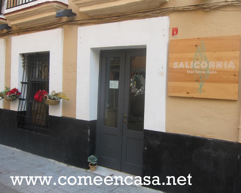 Salicornia, nuevo restaurante en Cádiz