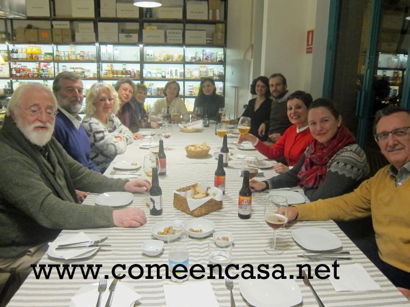 Encuentro mensual con Slow Food