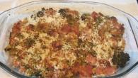 pastel de brócoli y jamón