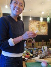 Taller de elaboración de kimchi