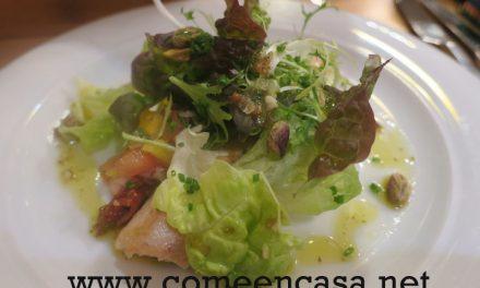 Menú ecológico en Tragaldabas Sevilla