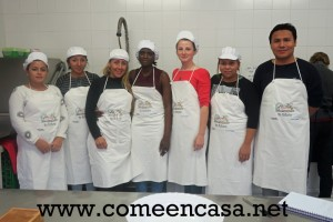 Nuevo grupo de talleres de cocina