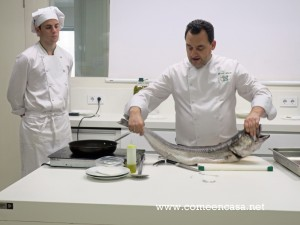 Cocina para novatos carne pescados verduras