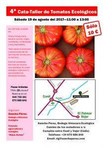 Cuarta cata de tomate ecológico @ Bodegas Sancha Pérez