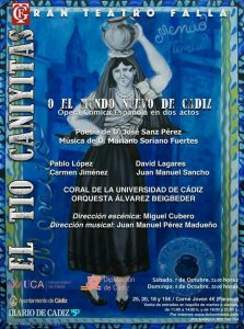El tío Caniyitas, ópera cómica @ Gran Teatro Falla