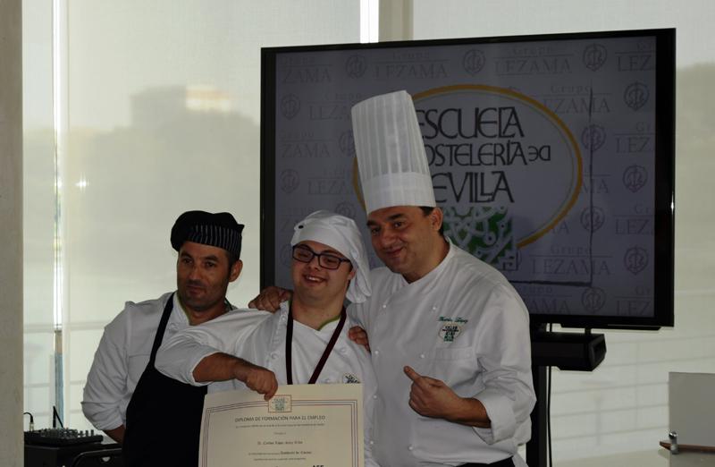 Una promoción de cocineros muy especial