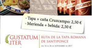 GUSTATUM ITER - Feria Tapa Santiponce (Sevilla) @ LOCALIDAD DE SANTIPONCE (Sevilla)
