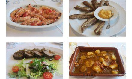 Almuerzo sanluqueño en Casa Bigote