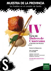IV FERIA DE DULCES DE CUARESMA @ Patio de la Diputación de Sevilla
