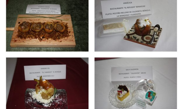 Final del concurso Chef Sierra de Cádiz 2018