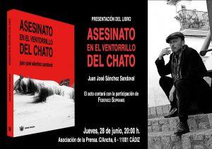 """PRESENTACIÓN LIBRO """"Asesinato en el Ventorrillo de El Chato"""" @ Asociación de la Prensa"""