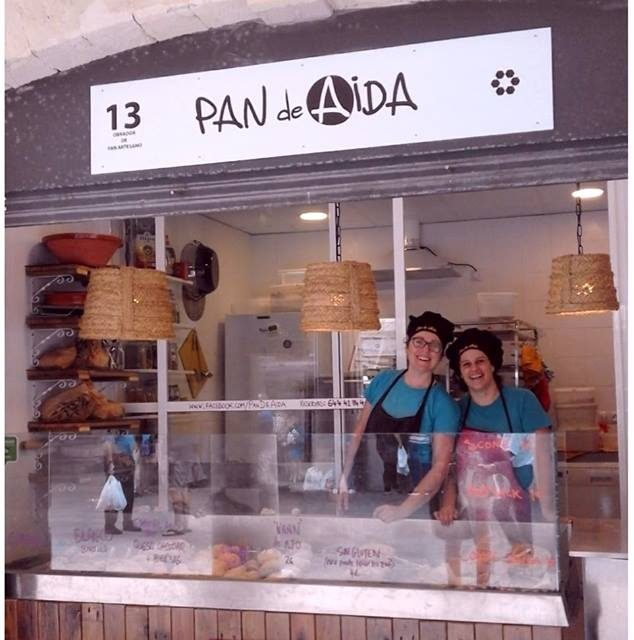 El pan de AIDA en el Mercado Central