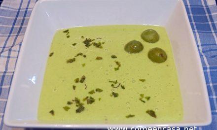 Crema fría de calabacín (o gazpacho)