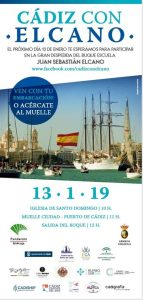 SALIDA del Buque Escuela Juan Sebastián de Elcano @ Muelle Ciudad, Puerto de Cádiz