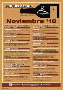 La Casapuerta en Noviembre @ LA CASAPUERTA BAR