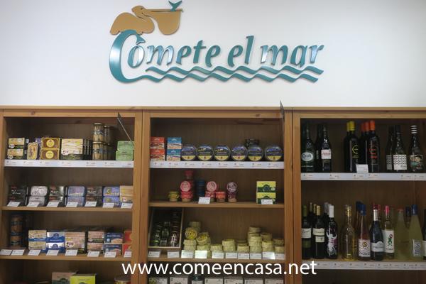 Cómete el Mar, conservas, vinos y gastronomía