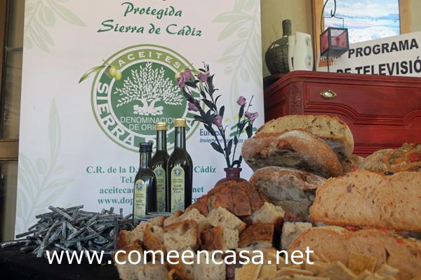 Pan con aceite de Cádiz en El Berrueco