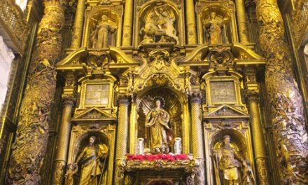 DIA DEL PATRIMONIO SOLIDARIO: Visita iglesia de Santiago