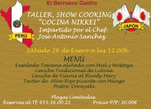 TALLER DE COCINA NIKKEI @ EL BERRUECO GASTRO