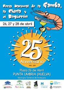Feria de la gamba, la chirla y el boquerón de Punta Umbría @ Plaza 26 de Abril