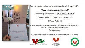 """Exposición """"Doce miradas con solidaridad"""" @ Centro Cívico Casa de las Columnas"""