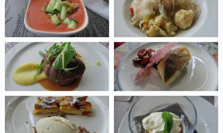 Almuerzo en la Escuela de Hostelería de Sevilla