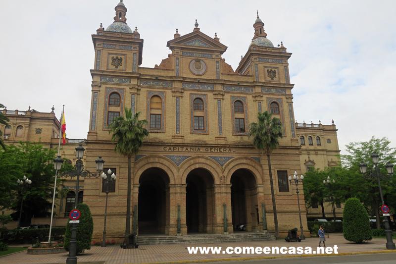 Visita al edificio de Capitanía General de Sevilla