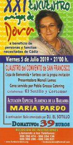 XXI ENCUENTRO AMIGOS DE DORA @ Claustro del Convento de San Francisco