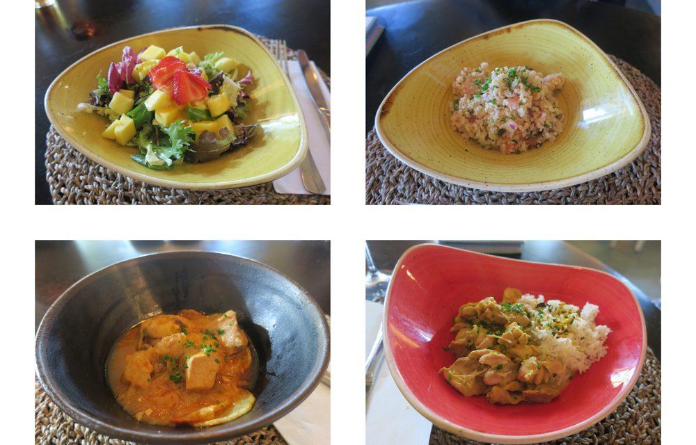 El menú del día en Arsenio Manila