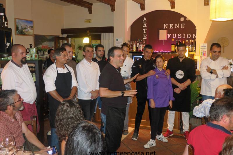 La noche gastronómica de la Sierra de Cádiz (En Grazalema)