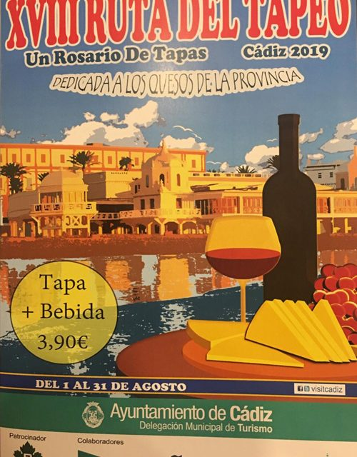 RUTA DEL TAPEO DE CADIZ 2019