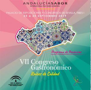 ANDALUCIA SABOR VII CONGRESO GASTRONÓMICO @ Palacio de Exposición y Congresos de Sevilla FIBES