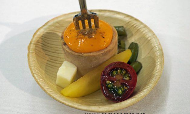 Flamenquín de melva con verduras (receta de supermercado)