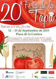 XX FERIA DE LA TAPA DE ROTA @ Plaza de la Cantera, Rota (Cádiz)