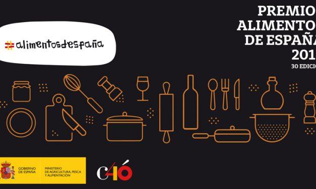 Entregados los premios Alimentos de España