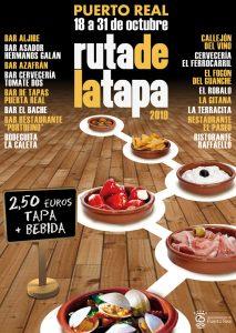 Ruta de la Tapa de Puerto Real 2019 @ 16 bares y restaurantes de Puerto Real (Cádiz)