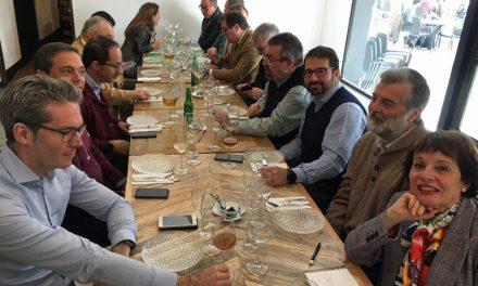 Con la Academia Sevillana de Gastronomía y Turismo